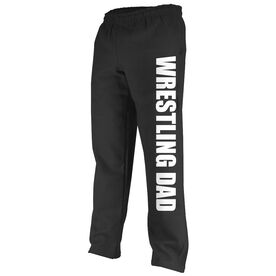 Wrestling Fleece Sweatpants Wrestling Dad