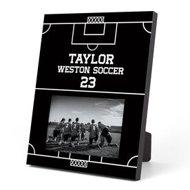 Soccer Photo Frame - Field