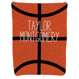 Basketball Baby Blanket - Giant Basketball