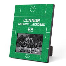 Guys Lacrosse Photo Frame - Field
