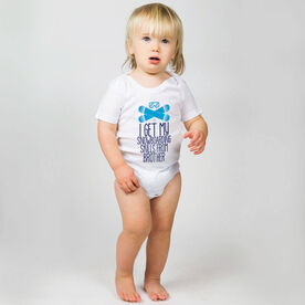 Snowboarding Baby One-Piece - I Get My Skills From