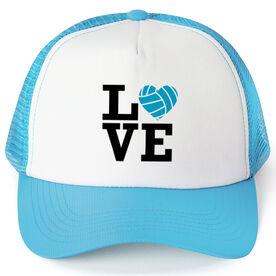 Volleyball Trucker Hat Love Volleyball