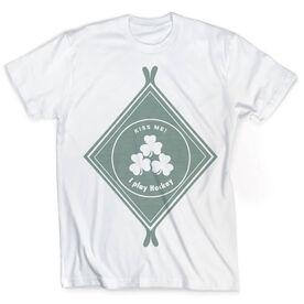 Vintage Hockey T-Shirt - Irish Diamond