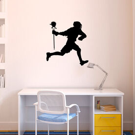 Guys Lacrosse Removable ChalkTalkGraphix Wall Decal - Player