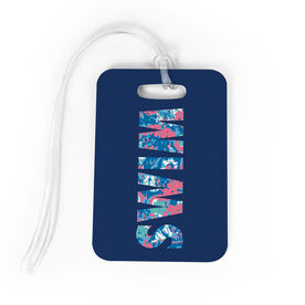 Swimming Bag/Luggage Tag - Floral Swim