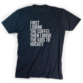 Hockey Short Sleeve T-Shirt - Then I Drive The Kids To Hockey