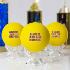 Girls Lacrosse Ball - Custom Text