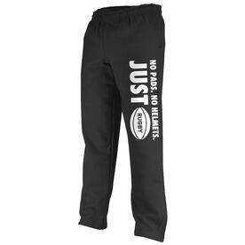 Rugby Fleece Sweatpants No Pads No Helmets Just Rugby