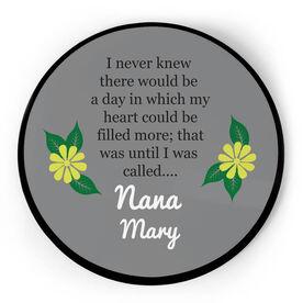 Personalized Circle Plaque - Nana's Love