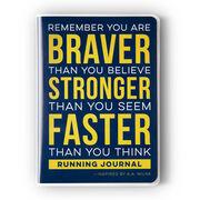 GoneForaRun Running Journal - Braver Stronger Faster
