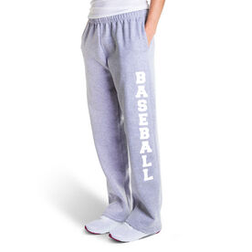 Baseball Fleece Sweatpants - Baseball