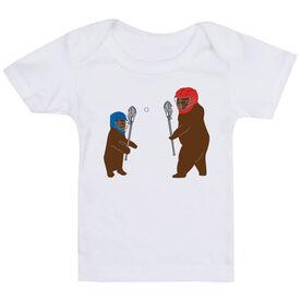 Guys Lacrosse Baby T-Shirt - Bears