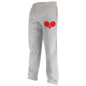 Ping Pong Fleece Sweatpants Paddle Silhouette