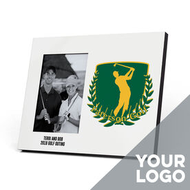 Golf Photo Frame - Custom Logo