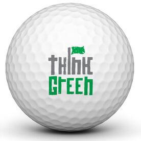 Think Green Golf Ball