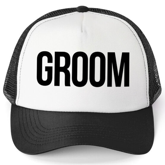 Images. Personalized Trucker Hat - Groom Click to Enlarge 99134f857dbf