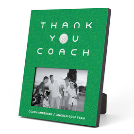 Golf Photo Frame - Thank You Coach