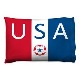 Soccer Pillowcase - USA