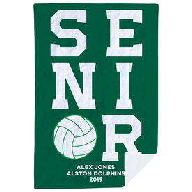 Volleyball Premium Blanket - Personalized Senior