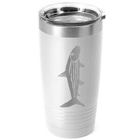 Fly Fishing 20 oz. Double Insulated Tumbler - Bonefish