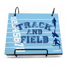 BibFOLIO® Race Bib Album - Track and Field Silos