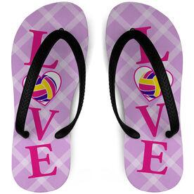 Volleyball Flip Flops LOVE