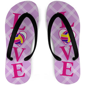 Volleyball Flip Flops LOVE