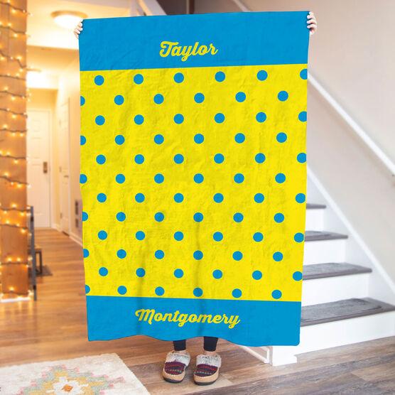 Personalized Premium Blanket - My Polka Dots