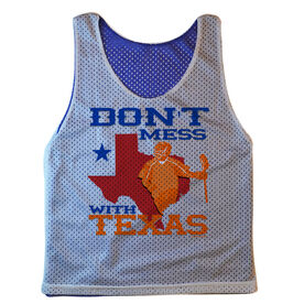 Guys Lacrosse Pinnie - Don't Mess With Texas