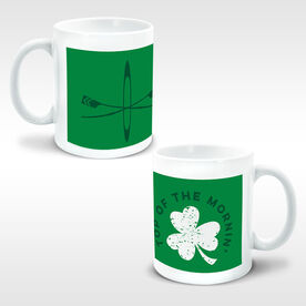 Crew Coffee Mug Top Of The Mornin' Shamrock