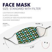 Face Mask - History Teacher Pattern