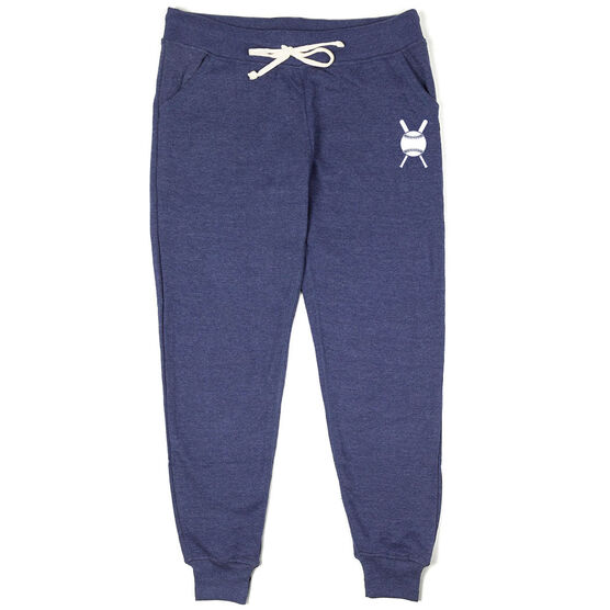 Softball Joggers - Softball with Crossed Bats