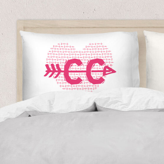 Cross Country Pillowcase - Love