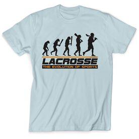 Guys Lacrosse Short Sleeve T-Shirt - Evolution