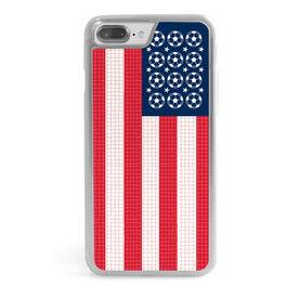 Soccer iPhone® Case - Patriotic Soccer