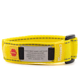 Tech Nylon IDmeBAND Single Sided Bracelet