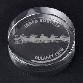 Crew Personalized Engraved Crystal Gift - Customized Crew