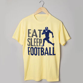 Football Tshirt Short Sleeve Eat Sleep Football