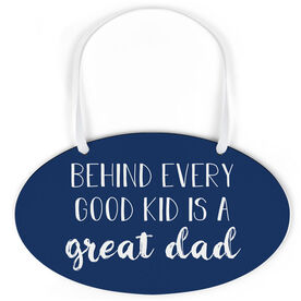 Oval Sign - Great Dad