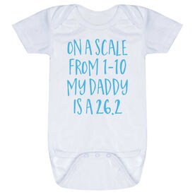 Running Baby One-Piece - My Daddy Is A 26.2