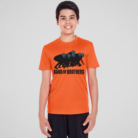 Football Short Sleeve Performance Tee - Band of Brothers