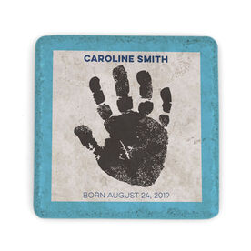 Personalized Stone Coaster - Hand Print
