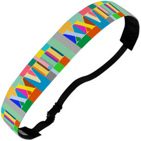 Running Julibands No-Slip Headbands - 26.2 Roman Numeral (Colorful)