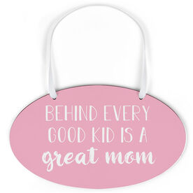 Oval Sign - Great Mom