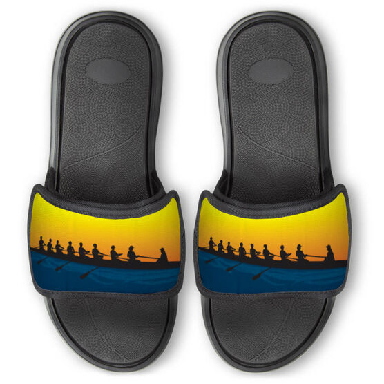 Crew Repwell® Slide Sandals - Crew at Sunrise