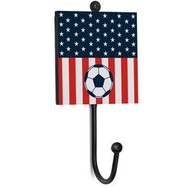 Soccer Medal Hook - USA Soccer