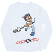 Seams Wild Baseball Long Sleeve Tech Tee - Coco Loco