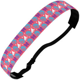 Cheerleading Juliband No-Slip Headband - Cheerleading Pattern