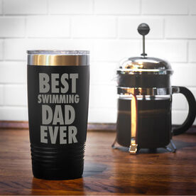 Swimming 20 oz. Double Insulated Tumbler - Best Dad Ever