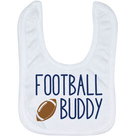 Football Baby Bib - Football Buddy